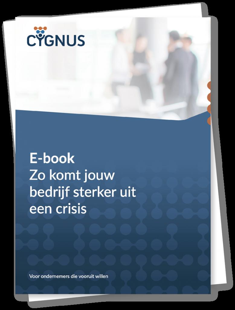 Cygnus downloads ebook zo komt jouw bedrijf sterker uit een crisis