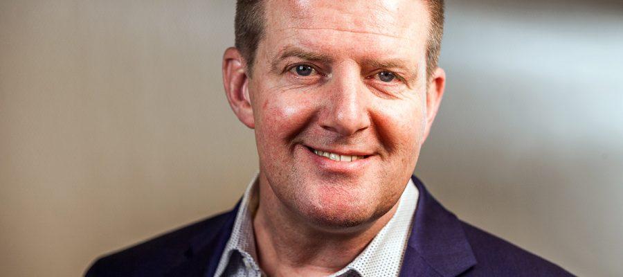 Wilco Nederhof, medewerker Rabobank Rijn en Veenstromen.  Woerden, 16 november 2017. Beeld: Marlies Wessels